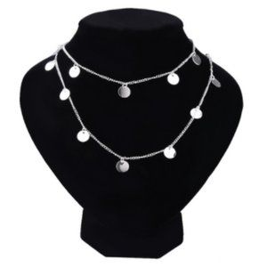 Jewelry - Long Silver Tone Necklace, New!